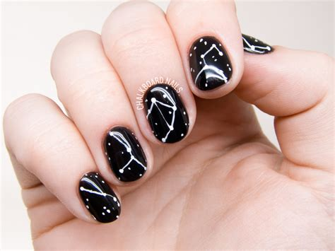 Nail Of by Simple Constellation Nail Chalkboard Nails Nail