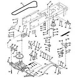 craftsman lawn tractor drive belt diagram duashadi