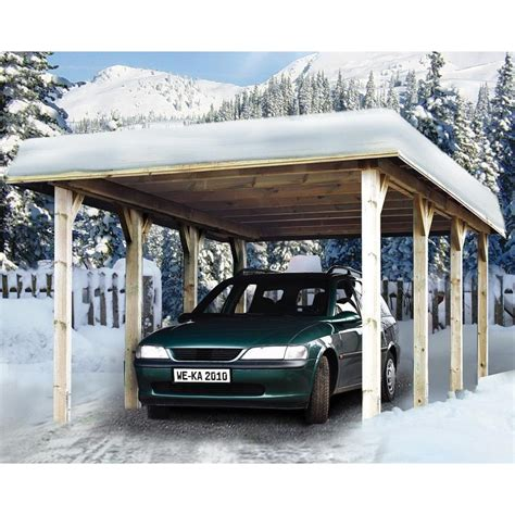 Weka Carport by Weka Garage Carport 609 Mein Wekashop De