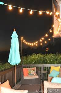 Diy Patio Lighting Triyae Backyard String Lights Pole Various Design Inspiration For Backyard