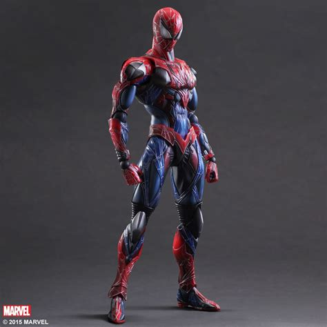 marvel universe variant play arts spider square enix store