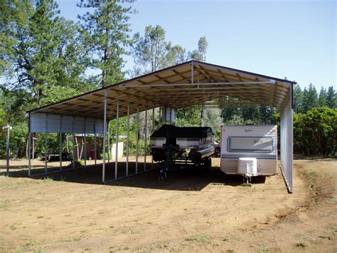 Rv Carports by Metal Rv Storage And Carports