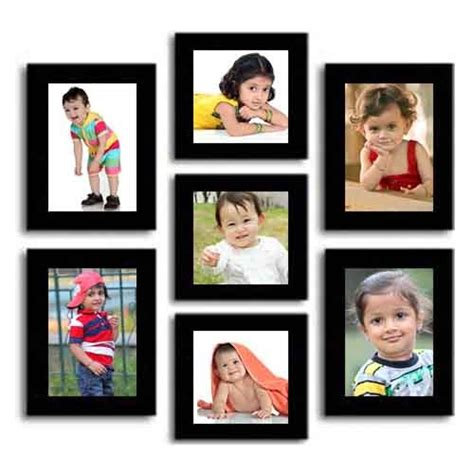 7 picture collage frame collage set of 7 photo frames corporate gifts gifts
