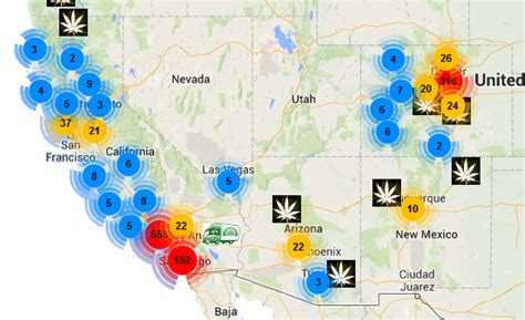 map of colorado dispensaries photos anti protest on federal blvd in denver the