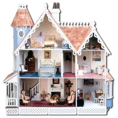 pictures of doll house mckinley dollhouse kit