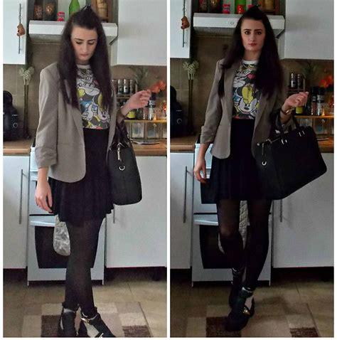 Zara Office Basic City Bag kamila p zara office city bag primark skater skirt