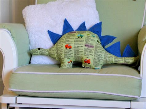 how to make a dinosaur softie with free pattern how