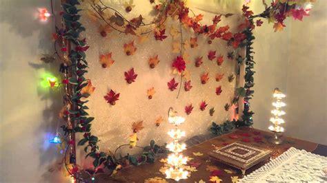 simple ganpati mandap decoration ideas  home