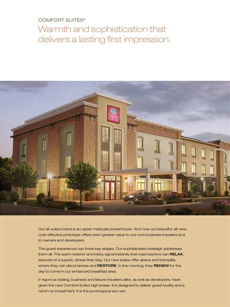 comfort suites by choice hotels comfort suites prototype book by choice hotels