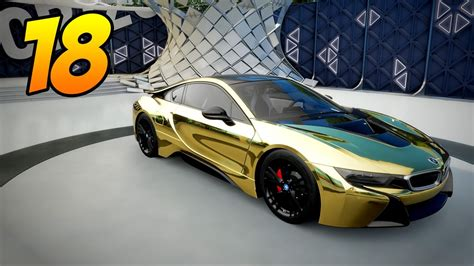 bmw i8 gold forza horizon 3 gameplay part 18 the gold bmw i8 is