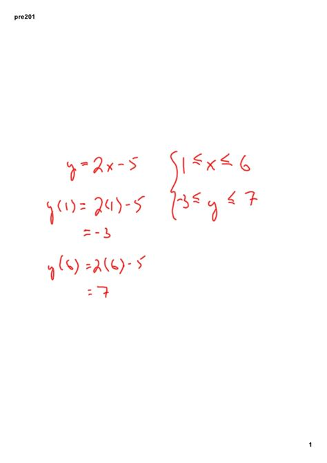 Domain Of A Vector Function