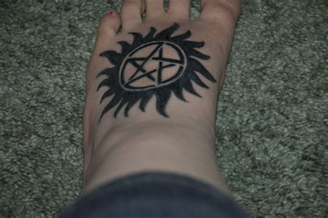 anti tattoo supernatural tattoos designs ideas and meaning tattoos