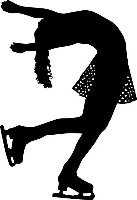 Free photo Figure Skater Runner Figure Skating Silhouette