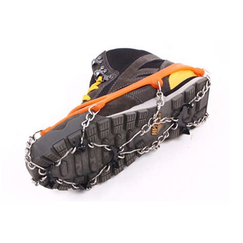 shoe covers for open house 1pairs ice gripper outdoor crons antiskid shoe covers climbing claw snow hiking ski