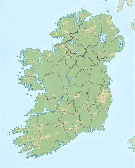 map of island opinions on ireland