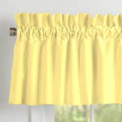 Solid Yellow Curtains Solid Banana Window Valance Rod Pocket Carousel Designs