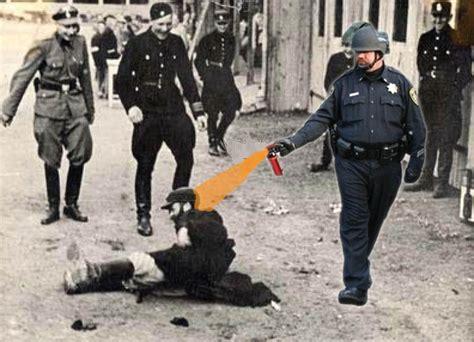 Pepper Spray Cop Meme - image 205799 casually pepper spray everything cop