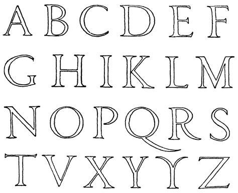 lettere alfabetiche renaissance alphabet clipart etc