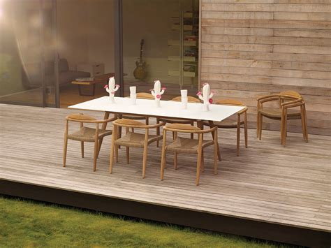 Furniture Charming Rattan Dining Chairs And White Dining Gloster Outdoor Furniture Sale