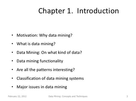 pattern classification data mining data mining lecture 1 2 conecpts and techniques