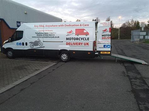 Motorrad Transport Transporter by Motorcycle Transport Motorcycle Delivery Motorcycle