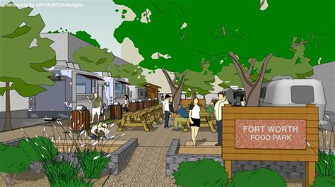 food truck park design fort worth gets the metroplex s first food truck park