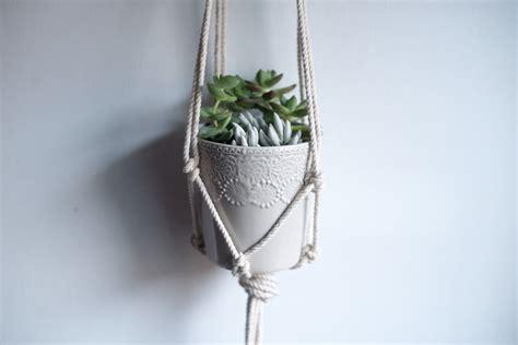 Diy Rope Hanging Planter - diy macrame hanging planter likely by sea