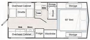 Campervan Floor Plans by Camper House Plans House Plan
