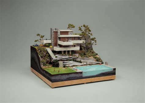 Frank Lloyd Wright Waterfall House Plans Creative Recreations Of Frank Lloyd Wright S Falling Water