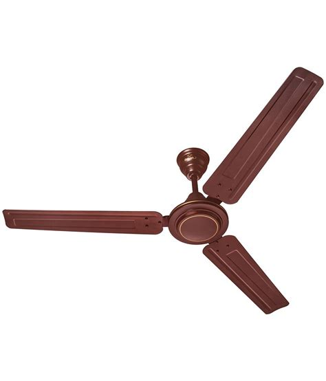 cost to add a ceiling fan bajaj 1200 mm crest lx ceiling fan brown available at