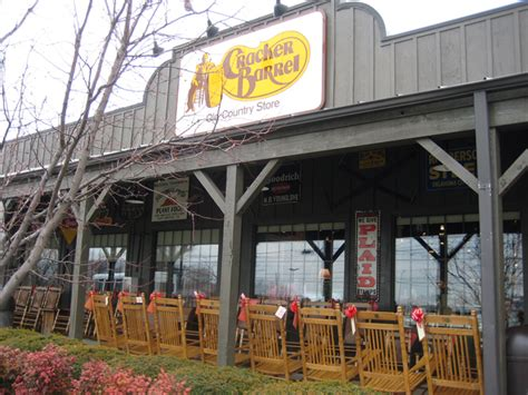 country style cooking restaurant chain cracker barrel the sticky egg
