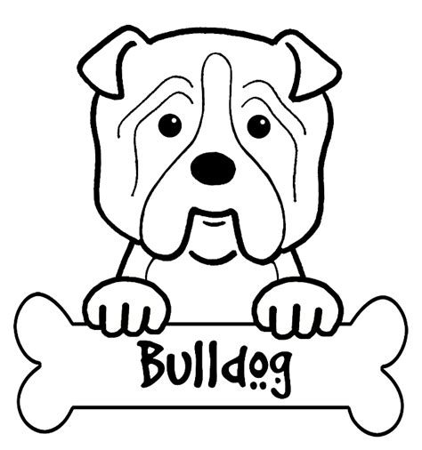 bulldog coloring pages bulldog coloring pages coloring pages