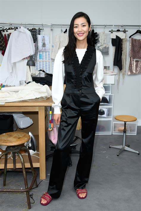 Chanel Haute Couture 2008 Front Row by Liu Wen Photos Photos Chanel Front Row Fashion