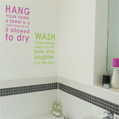quotes for bathroom bathroom wall quotes quotesgram