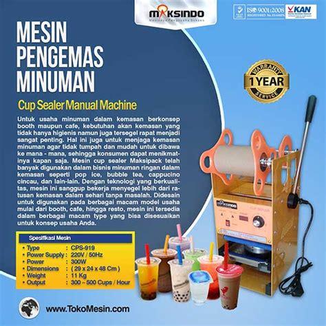Mesin Sealer jual mesin cup sealer manual di surabaya toko mesin