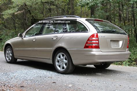 Mercedes C240 2003 by 2003 Mercedes C240 Base Wagon 4 Door 2 6l