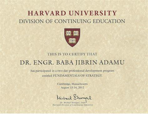 Harvard Mba Certificates by Degree Harvard Degree Programs