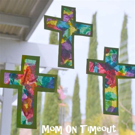 Stained Glass Tissue Paper Craft - 258 best images about kaleo ideas on