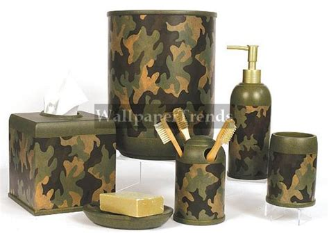 Camouflage Bathroom Set by Girlshopes The Leading Hopes Site On The Net