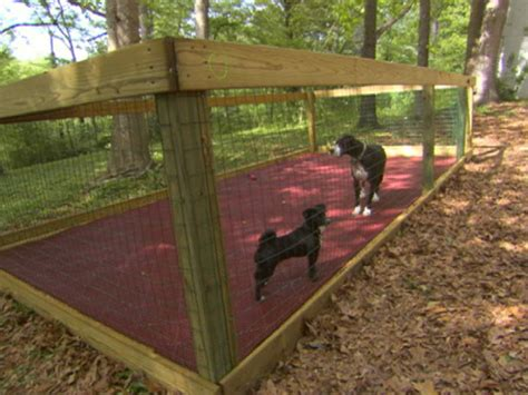 How To Construct A Shaded Dog Run Dog Pen Cabana And Join Backyard Runs