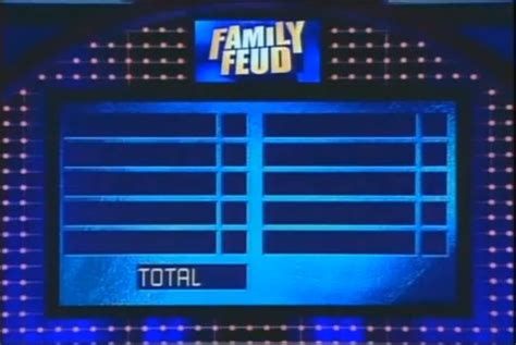 Image Fast Money Setup From 2006 2007 Png Game Shows Wiki Fandom Powered By Wikia Family Feud Editable