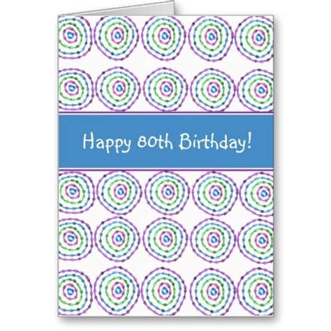 Happy 80th Birthday Card Template by 1000 Images About 80th Birthday Gift Ideas For On