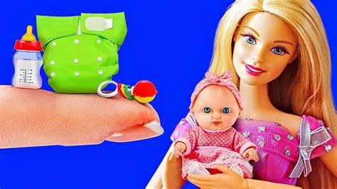 diys  crafts   barbie doll youtube