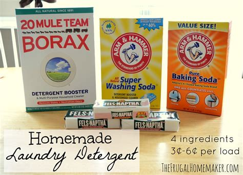 Handmade Laundry Soap - frugal diy how to make laundry detergent caroldoey