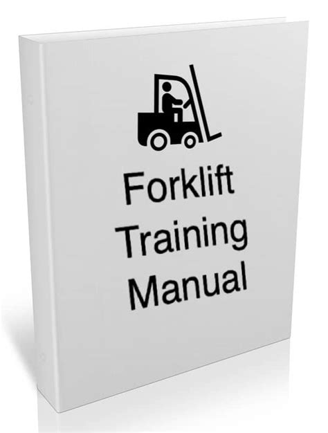 Forklift Training Manual Resources Free Training Guides