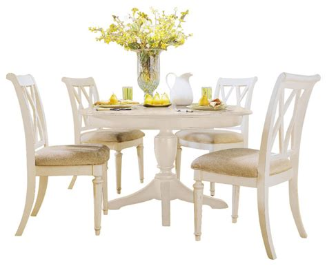 painted dining room set american drew camden light 6 piece round dining room set