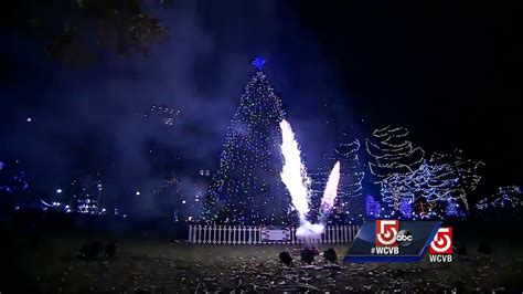 Where To See Christmas Lights In Boston 2017 Axs