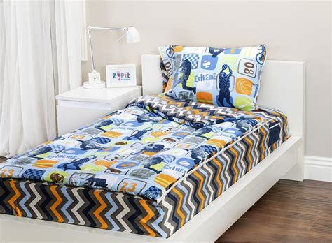 fun bed sheets zip it bedding twin reversible kids bedding or kids