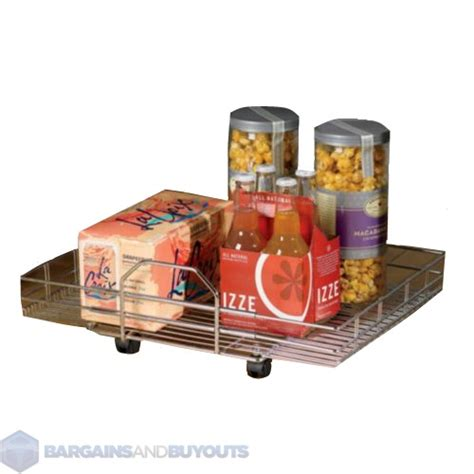 Kitchen Pantry On Wheels by Shelf On Wheels Expandable Chrome Kitchen Pantry Roll Out