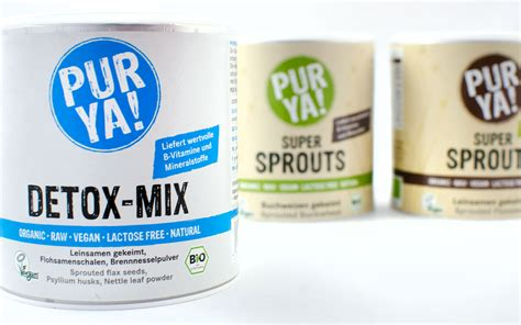 Detox Mixture by Pur Ya Sprouts Detox Mix Pflanzenpower